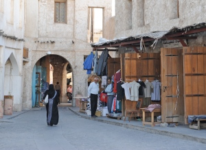 entering the souks