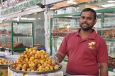 raw crunchy yellow dates from Al Ain in the UAW